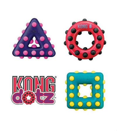 20% OFF:  KONG Dotz Triangle Dog Toy