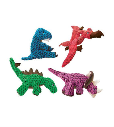 20% OFF:  KONG Dynos Green Stegosaurus Dog Toy
