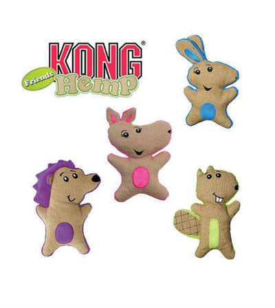 20% OFF:  KONG Hemp Friends Hedgehog Dog Toy