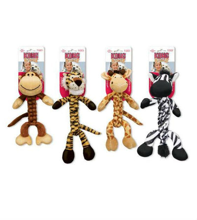 20% OFF:  KONG Safari Braidz Zebra Plush Dog Toy