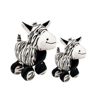 20% OFF:  KONG TenniShoes Zebra Dog Toy
