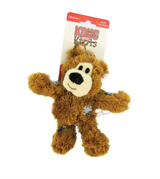 20% OFF:  KONG Wild Knots Bear Dog Toy