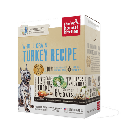 The Honest Kitchen Keen Turkey Dehydrated Dog Food