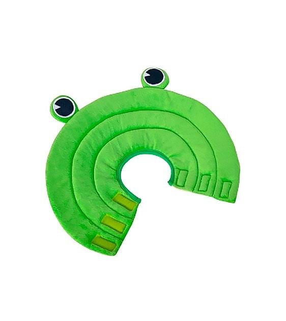 Kojima Lick Prevention Soft Collar for Dogs (Kermit The Frog)