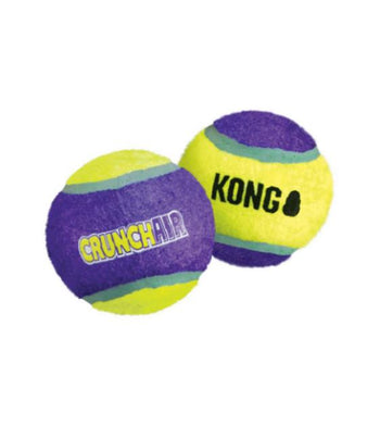 KONG Knots CrunchAir Ball Dog Toy
