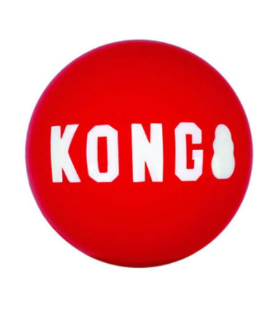 20% OFF:  KONG Signature Ball (2 pack) Dog Toy