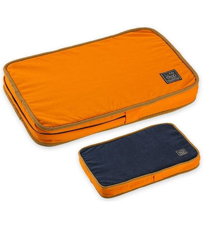 LifeApp MicroFiber Orthopaedic Bed (Orange)