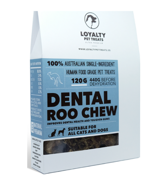 Loyalty Pets Dental Roo Chew Dog Treats