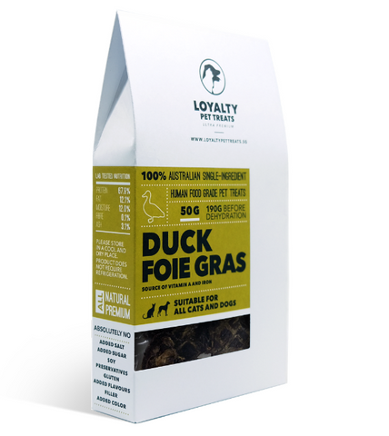 Loyalty Pets Duck Foie Gras Dog Treats