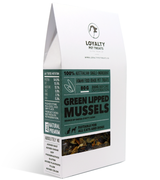 Loyalty Pets Green Lipped Mussels Dog Treats