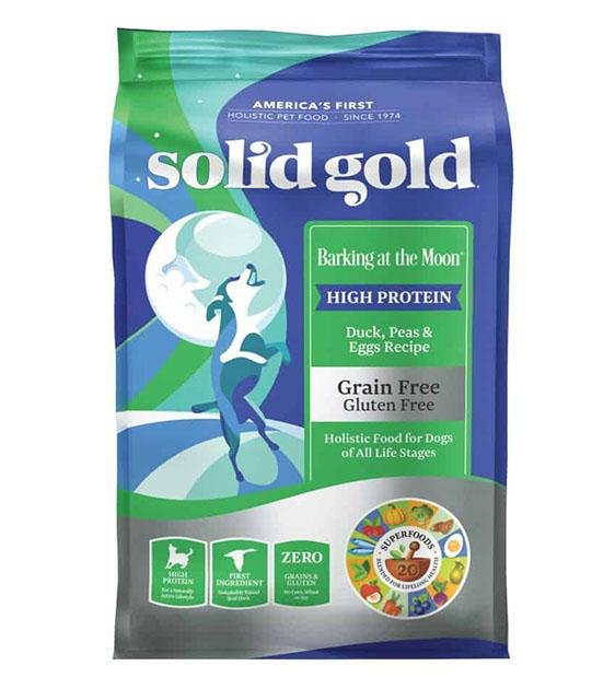 42% OFF: Solid Gold Barking at the Moon Grain Free (Duck, Peas & Egg) Dry Dog Food
