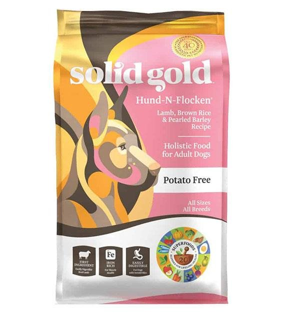 42% OFF: Solid Gold Hund-N-Flocken (Lamb,Brown Rice & Pearled Barley) Dry Dog Food