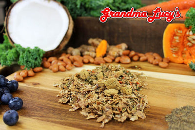 10% OFF + FREE SUPPLEMENT: Grandma Lucy's Macanna Freeze Dried Salmon Recipe Dog Food