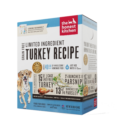 The Honest Kitchen Marvel Turkey Dehydrated Dog Food