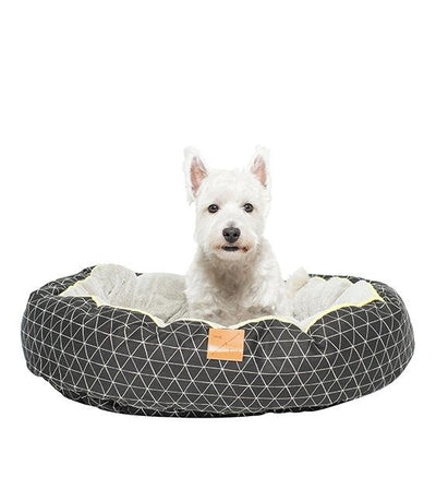 Mog & Bone Four Seasons Reversible & Washable Designer Dog Bed (Pitch Triangle)