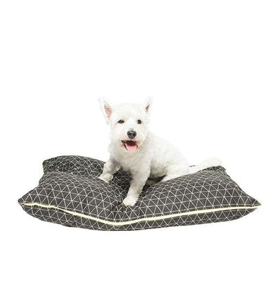 Mog & Bone Futon With Removable Cover Designer Dog Bed (Pitch Triangle)