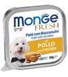 Monge Fresh Chicken Pate with Chunkies Tray Dog Food