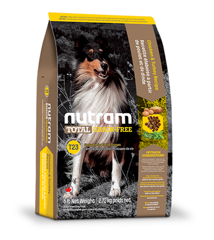 Nutram Total Grain-Free Turkey, Chicken and Duck T23 Dry Dog Food
