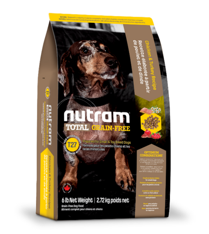 Nutram Total Grain-Free Chicken & Turkey T27 Dry Dog Food