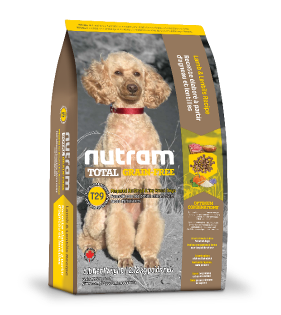 Nutram Total Grain-Free Lamb and Lentils T29 Dry Dog Food