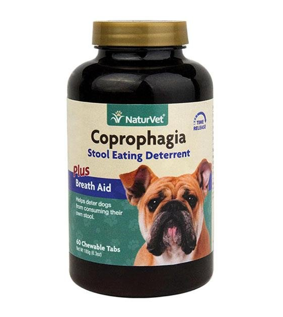 20% OFF: NaturVet Coprophagia Stool Eating Deterrent Chewable Tablets Dog Supplement