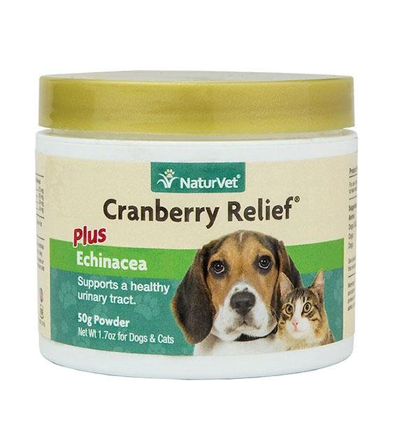 NaturVet Cranberry Relief (Urinary & Immunity) Powder Cat & Dog Supplement