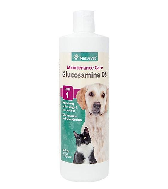 NaturVet Glucosamine DS - MSM & Chondroitin Liquid Cat & Dog Supplement