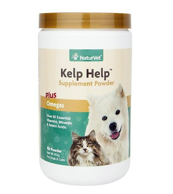 NaturVet Kelp Help (Skin, Digestion & Immunity) Powder Cat & Dog Supplement