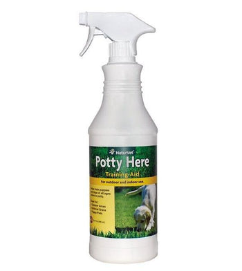 20% OFF: NaturVet Potty Here Potty Training Aid Spray for Dogs