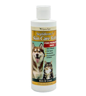20% OFF: NaturVet Septiderm-V Skin Care Bath (For Problem Skin) for Dogs