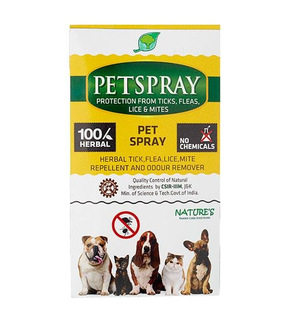 Nature's Anti-Tick & Flea PetSpray for Dogs
