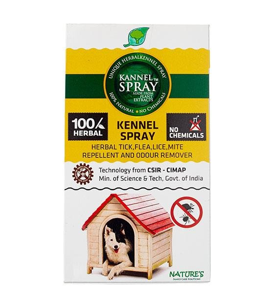 Nature's Anti-Tick & Flea PetSpray for Kennels & Home