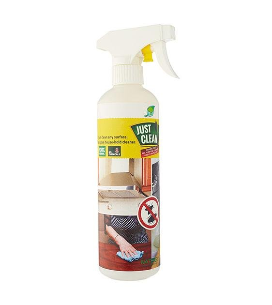 Nature's JustClean Herbal Surface Cleaner For Home