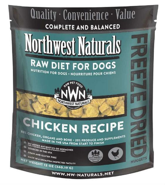 4 FOR $170: Northwest Natural's Freeze Dried Chicken Nuggets Dog Food