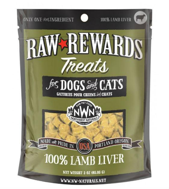 Northwest Natural's Freeze Dried Lamb Liver Cat & Dog Treats