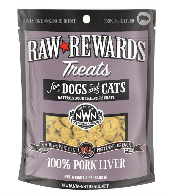 Northwest Natural's Freeze Dried Pork Liver Cat & Dog Treats