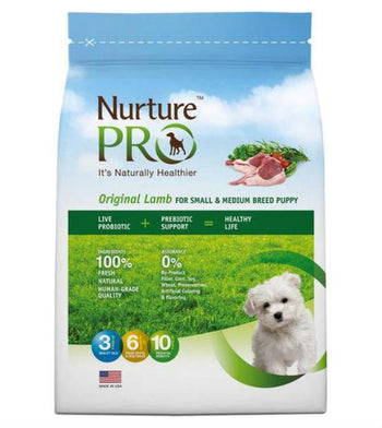 20% OFF: Nurture Pro Original Lamb For Small & Medium Breed Puppy Dry Dog Food
