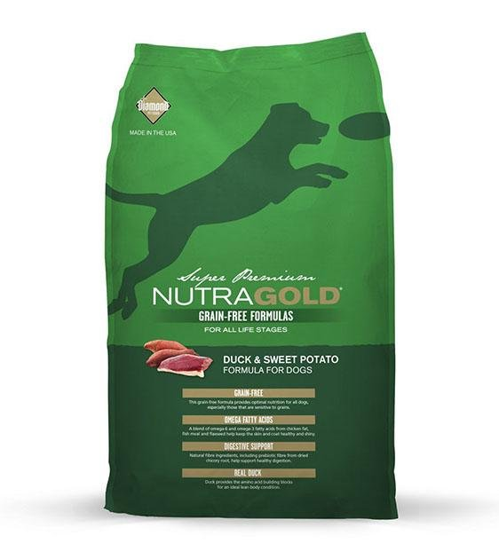 50% OFF: NutraGold Grain Free Duck & Sweet Potato Dog Food