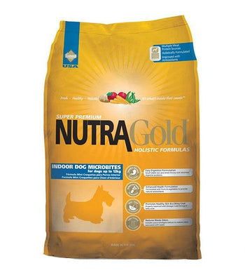 50% OFF + FREE TOPPER: NutraGold Holistic Indoor Micro Bite Dog Food