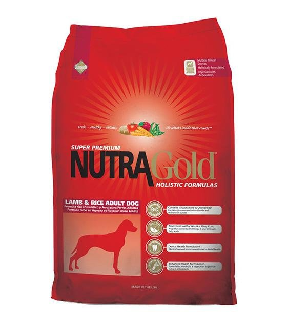50% OFF: NutraGold Holistic Lamb & Rice Dog Food