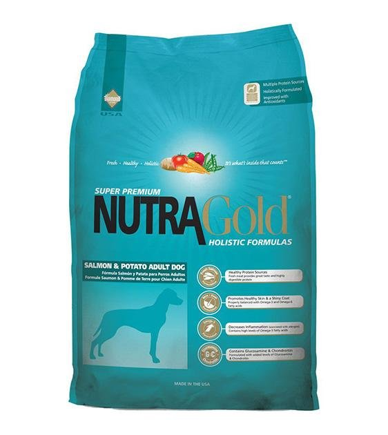 50% OFF: NutraGold Holistic Salmon & Potato Dog Food