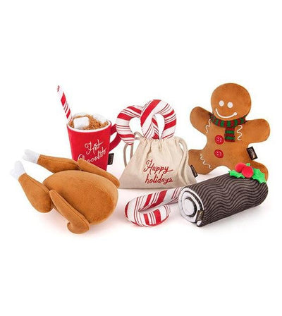 10% OFF: P.L.A.Y. Eco-Friendly Holiday Classics Gingerbread Man Dog Toy
