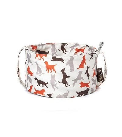 P.L.A.Y. Eco-Friendly Travel Bowl for Dogs Vanilla