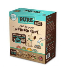 25% OFF: PURE Fish Supper Freeze Dried Dog Food