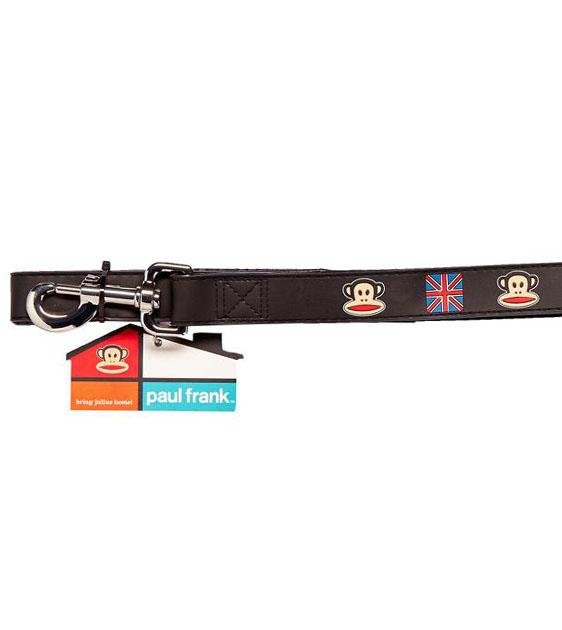 Paul Frank Original Union Jack Rubber Dog Leash