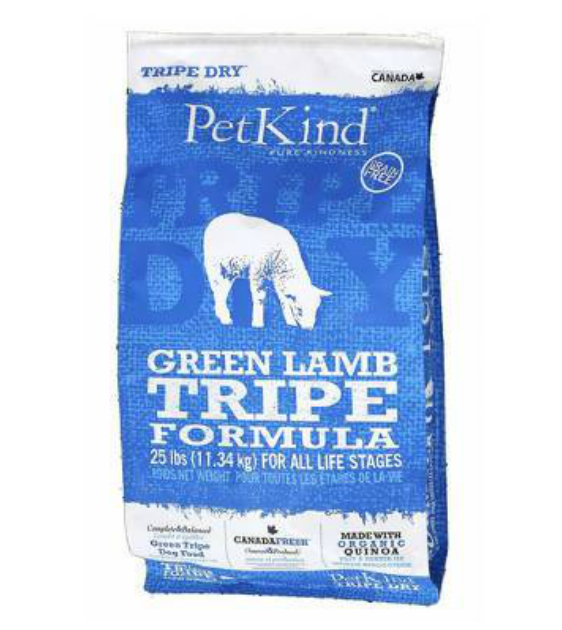 PetKind Green Lamb Tripe Grain Free Dry Dog Food (2 Sizes)