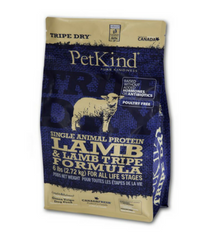 PetKind Single Animal Protein Lamb & Lamb Tripe Grain Free Dry Dog Food 6lb