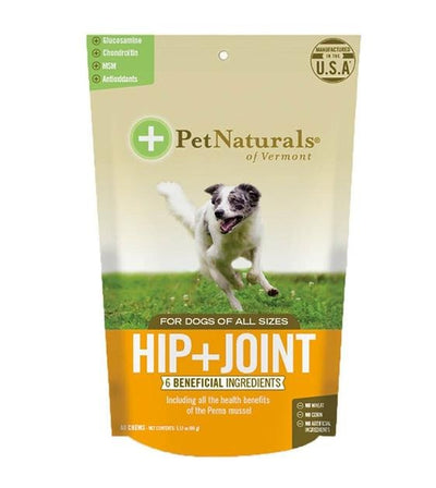 Pet Naturals of Vermont Hip & Joint Soft Chew Supplements For Dogs