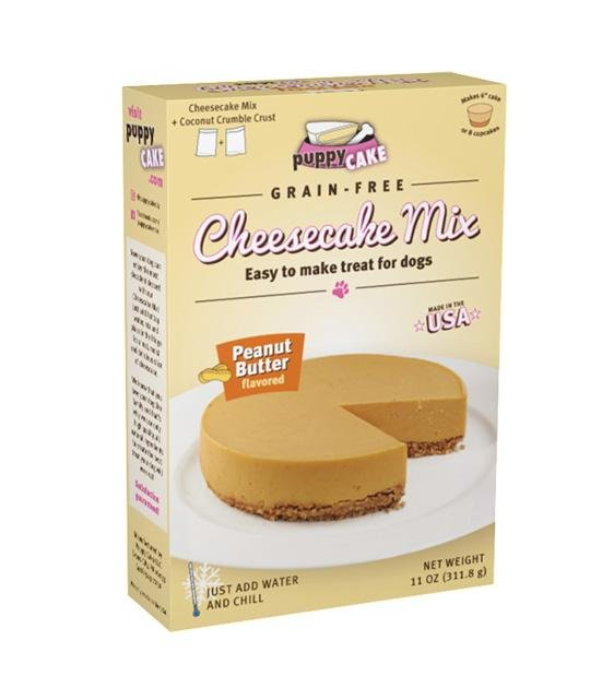 Puppy Cake Grain-Free Cheesecake Mix (Peanut Butter) For Dogs
