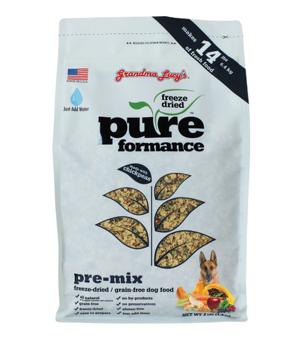 Grandma Lucy's PureFormance Freeze Dried Pre-Mix Dog Food